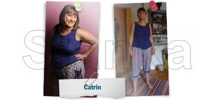 Före och efter Slanka, Catrin